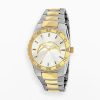 Game Time Executive Series San Diego Chargers Two Tone Stainless Steel Watch - NFL-EXE-SD - Men (Silver/Gold)