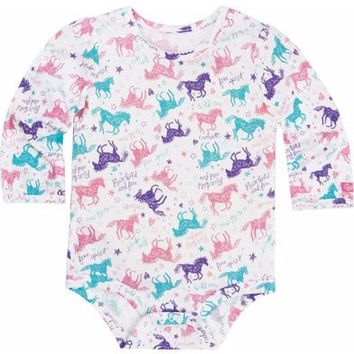 Carhartt Infant Girls' Run Wild and Free Bodyshirt