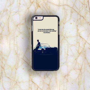 Dream colorful Dream colorful Paul Walker Plastic Case Cover for Apple iPhone 6 Plus 4 4s 5 5s 5c 6