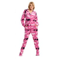 Buy KISS Christine Hooded Adult Onesuits | World's Best Pajamas