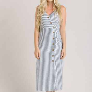Sydney Stripe Midi Dress