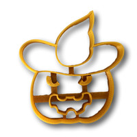 Halloween Pumpkin (style #2) cookie cutter