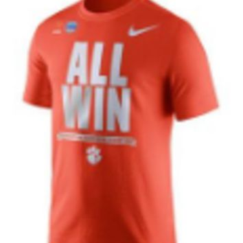 NCAA Clemson Tigers All Win Fiesta Bowl T-Shirt