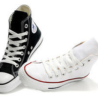 Converse All Star Hi Top Mens Womens Unisex High Tops Chuck Taylor Black White