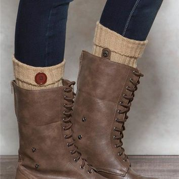 Fold Over Boot Cuffs