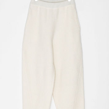 Wool Knit Loose Pants
