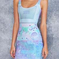 GAMER HOLOGRAPHIC TOASTIE DRESS - LIMITED