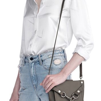 ATTICA CHAIN MINI SATCHEL IN MINK WITH RHODIUM | Shoulder Bag | Alexander Wang Official Site