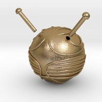 The Golden Snitch (movie screen accurate size) by MMoore on Shapeways