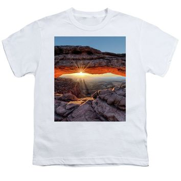 Mesa Arch Sunburst - Youth T-Shirt