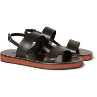Gucci - Strapped Leather Sandals | MR PORTER