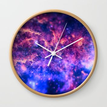 The center of the Universe (The Galactic Center Region ) Wall Clock by Badbugs_art