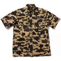 1ST CAMO TACTICAL S/S SHIRT