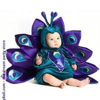 Baby Peacock Infant / Toddler Costume for Halloween