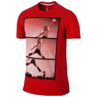 Jordan AJ 1 Poster Reel T-Shirt - Men's at Champs Sports
