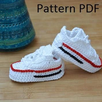 Crochet converse pattern, converse crochet shoes