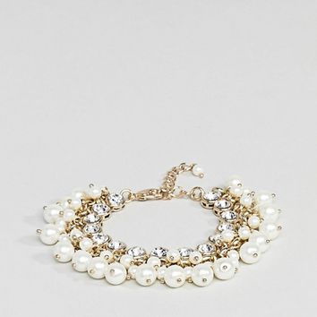 Coast Pearl Bracelet at asos.com
