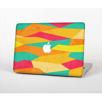The Vibrant Bright Colored Connect Pattern Skin Set for the Apple MacBook Air 13""
