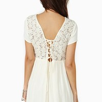 Laced Daisy Dress