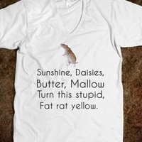 Sunshine, daisies, butter, mallow.....