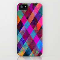 Rio Plaid iPhone & iPod Case by Schatzi Brown