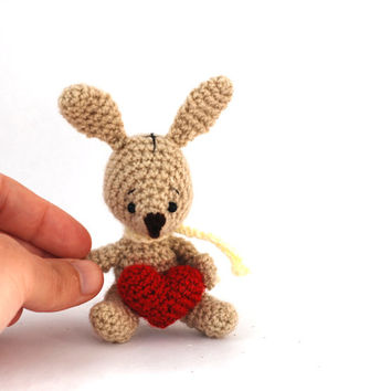 CROCHET BUNNY doll, amigurumi rabbit, cuddle rabbit animal, Bunny decor, stuffed animal for Easter, rabbit toy for children, cute bunny toy