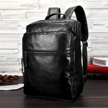 Mochilas Sale Kpop Backpack Fashion 2017 Waterproof Leather Bags Restore Ancient Ways Travel Bag High School Students Solid