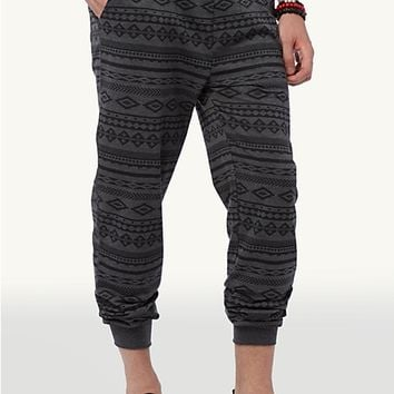 Heathered Grey Southwest Jogger