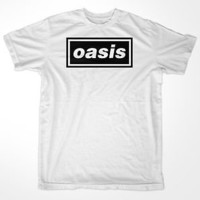 Oasis Logo Gallagher Beady Eye Rock Band T-Shirt [All Sizes]