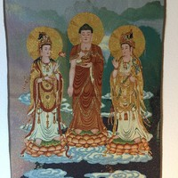 Shakyamuni Buddha with Two Disciples