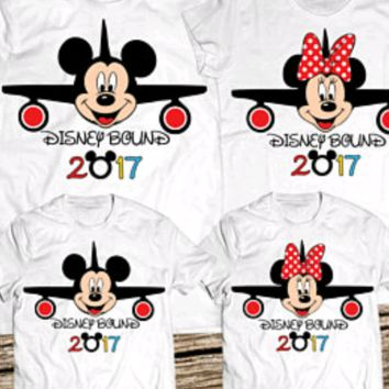 Mickey Minnie Disney Family Trip Shirts