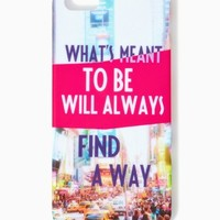 What's Meant to Be iPhone 5/5s Case | Technology - Fashion Accessories | charming charlie