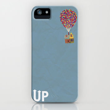 Disney Pixar's Up ~ A Minimalist Poster iPhone & iPod Case by Bluebird Design