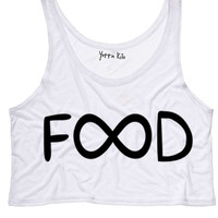 Classic Infinity Food Tank Top