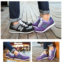 """Newbalance"" Fashion Casual All-match Female N Words Breathable Mesh Surface Sneakers Shoes Running shoes"