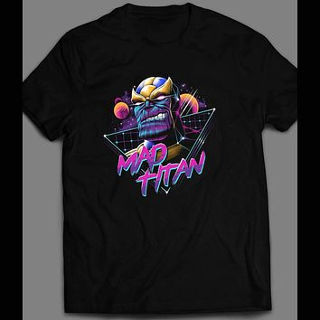 VINTAGE 80 DESIGN THANO MAD TITAN SHIRT