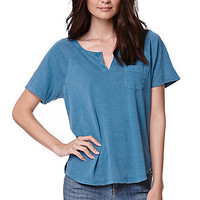 Nollie Slit Neck Pocket T-Shirt at PacSun.com