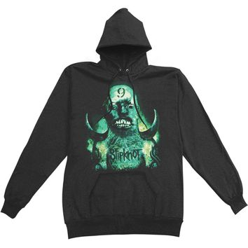 Slipknot Men's  Hooded Sweatshirt Black Rockabilia
