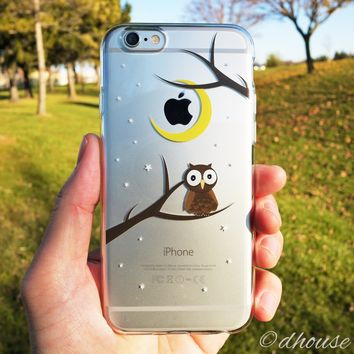MADE IN JAPAN Soft Clear iPhone Case - Cute Owl