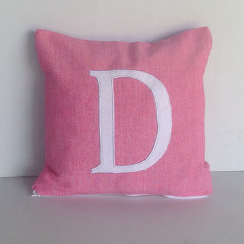 Monogram pillows for kids, Nursery decor, Gifts for Her, Home Decor, Monogram Nursery Decor, 18 x18 Monogram Pillow Covers