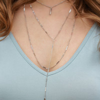 Changing Times Necklace - Silver