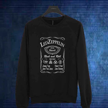 led zeppelin art sweater Sweatshirt Crewneck Men or Women Unisex Size