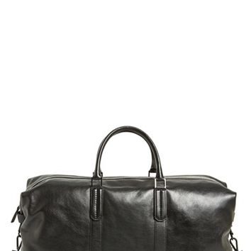 Men's Ben Minkoff 'Wythe' Leather Duffel Bag