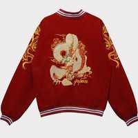 Dragon Harajuku Wind Bomber Jackets