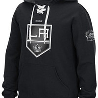 Mens 2015 Stadium Series LA Kings Carbon Application Lace Up Hoodie - Shop.Canada.NHL.com