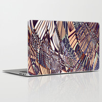 SWEEPING LINE PATTERN I Laptop & iPad Skin by Pia Schneider [atelier COLOUR-VISION]
