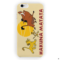 Hakuna Matata Disney Lion King For iPhone 6 / 6 Plus Case
