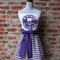Kansas State KSU K-State Wildcats Game Day Dress - Size Small