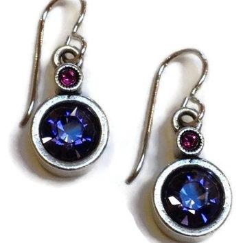 Patricia Locke Jewelry - Trick Earrings in Passion