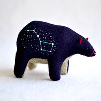 the big bear  ursa major big dipper  spirit bear by MountRoyalMint